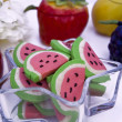 Water melon cookies — Stock Photo