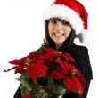 Teen Girl Santa — Stock Photo #1333700
