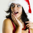 Teen Girl Santa — Stock Photo #1448491