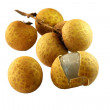 Longan, LamYai - thai fruit isolated on — Stock Photo #1263372