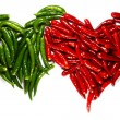Spicy harts — Stock Photo
