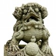 Asian Sculpture Lion. - Stock Photo