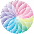Royalty-Free Stock Vector Image: Gradient wheel