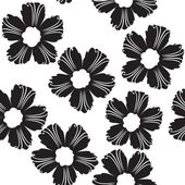 Flowers pattern — Stock Vector