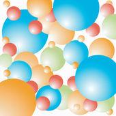 Happy balloons — Stock Vector