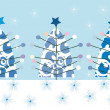 Foto de Stock  : Christmas tree background