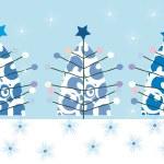 Noel ağacı arka plan — Stok fotoğraf