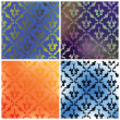 Damask collection backgrounds — Stock Photo #1441757