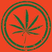 大麻 — 图库矢量图片
