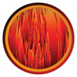 Royalty-Free Stock Photo: Flames background button