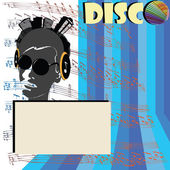 Discoteque flyer — Stock Photo