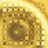 抛光黄金纹理 — 图库照片