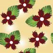 Patrón floral — Foto de Stock