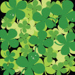 Seamless clover background — Stock Photo