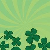 Four leaf clover — Stock Vector