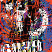 Grunge poster — Stockvektor