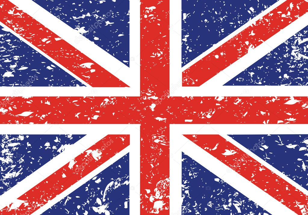 Grunge Union Jack — Stock Vector #1769308