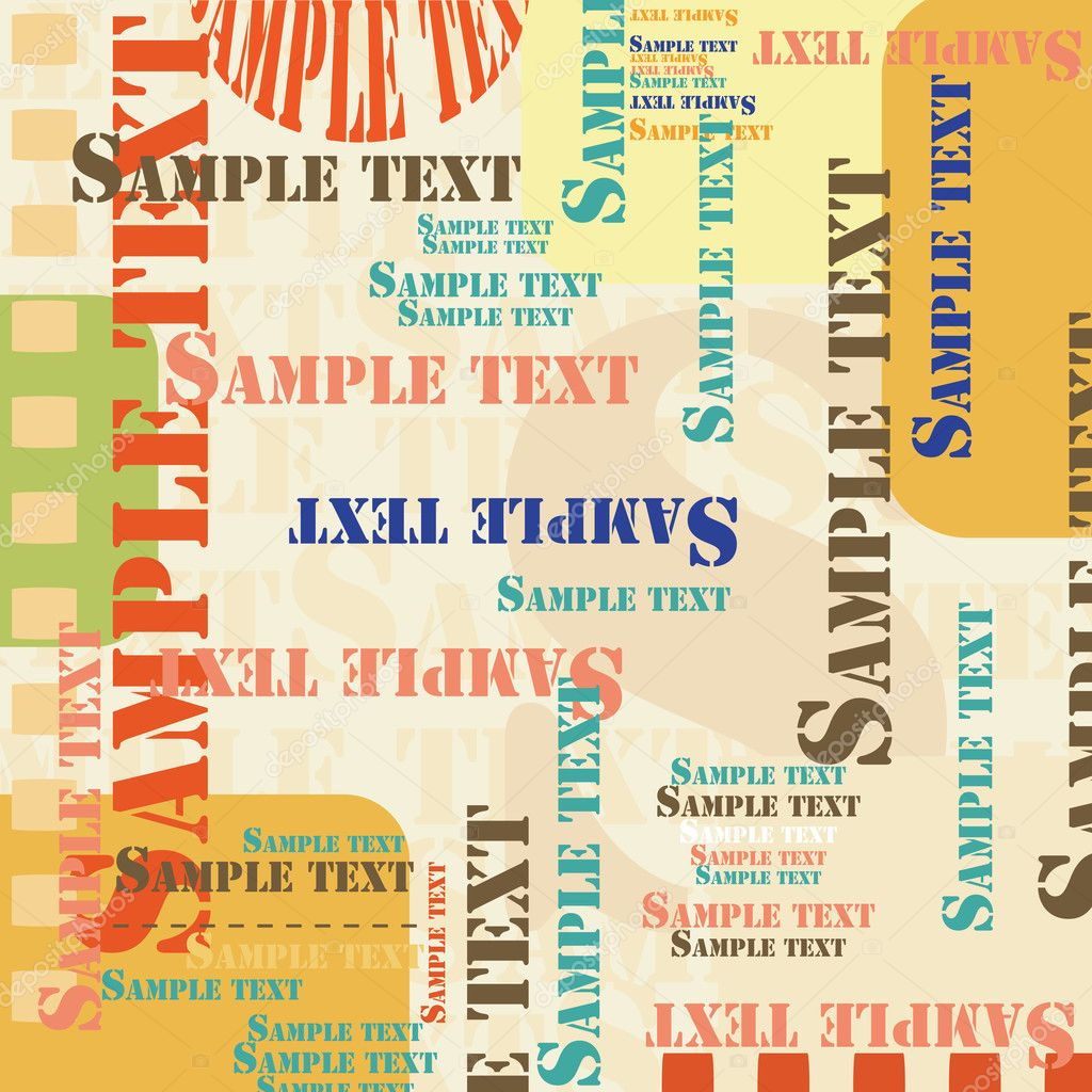 Sample text background — Stock Vector #1794737