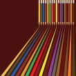 Royalty-Free Stock Imagen vectorial: Colored pencils