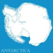 Antartica — Stock Vector