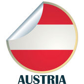 Austria Sticker — Stock Vector