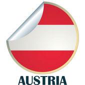 Austria Sticker — Stock Vector