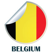 Belgium Sticker — Stock Vector