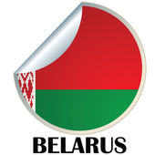 Belarus Sticker — Stock Vector