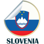 Slovenia Sticker — Stock Vector