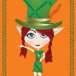 Leprechaun card — Stock Photo #2397018