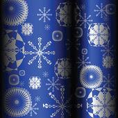 雪片をデザインします。 — ストック写真