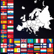 Map of Europe — Foto Stock