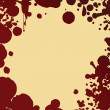 Blood splash pattern — Stock Photo