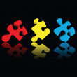 Puzzle pieces — Stock Photo #2690671