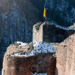 Stock Photo: Draculfortress tower ruins