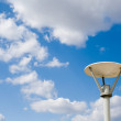 Street lamp against the sky — Stock Photo #1241234
