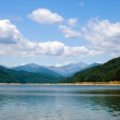 Stock Photo: Reservoir Vidraru, Fagaras Mt., Romania
