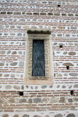 Orthodox church window — Stock Photo