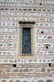 Orthodox church window — Stock Photo