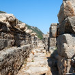 The way to the Ephesus Senate — Stock Photo