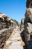 The way to the Ephesus Senate — Stock Photo