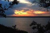 Nature sunset — Stock Photo