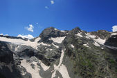 Mountain glacier — Stock Photo