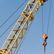 Crane  building  elevating — Stock Photo