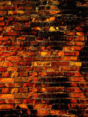 Brick laying wall — Foto Stock