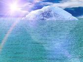 Iceberg ocean — Stock Photo