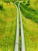 Pipes for water plastic — Stock Photo
