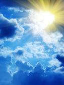 Sky sun cloud — Stockfoto