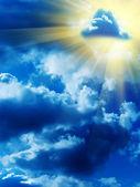 Sky sun clouds — Stock Photo