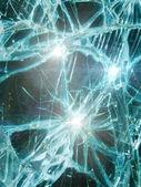 Glass broken — Stock Photo